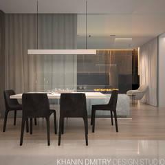Квартира в ЖК Донской Олимп : Столовые комнаты в . Автор – Dmitriy Khanin,