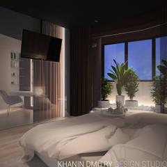 Квартира в ЖК Донской Олимп : Маленькие спальни в . Автор – Dmitriy Khanin