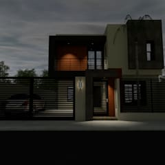 Дома на одну семью в . Автор – ARC ARQUITECTURA, Минимализм Железобетон