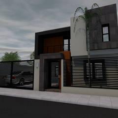 Casa habitacion: Casas unifamiliares de estilo  por ARC ARQUITECTURA