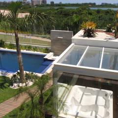 Viviane Cunha Arquitetura:  tarz Spa