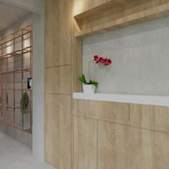 CV Office: Koridor dan lorong oleh TIES Design & Build,