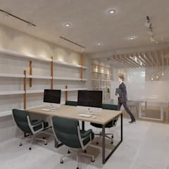 CV Office: Ruang Kerja oleh TIES Design & Build, Industrial