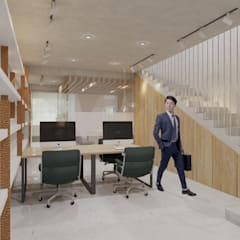CV Office:  Ruang Kerja by TIES Design & Build