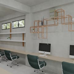 CV Office: Ruang Kerja oleh TIES Design & Build,
