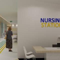 K Clinic:  Koridor dan lorong by TIES Design & Build
