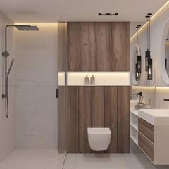 Bathroom by U-Style design studio,