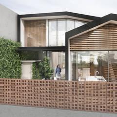 CV Pavilion : Rumah oleh TIES Design & Build,