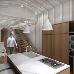 CV Pavilion : Dapur oleh TIES Design & Build, Modern