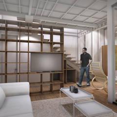 CV Pavilion : Ruang Keluarga oleh TIES Design & Build,