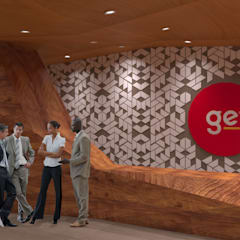 GE Concept Store: Ruang Komersial oleh TIES Design & Build, Modern