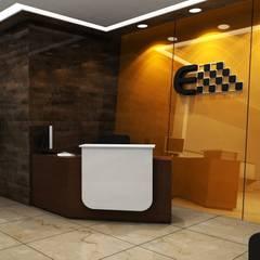 Eternal Services corporation:  Corridor & hallway by Shilpshala,