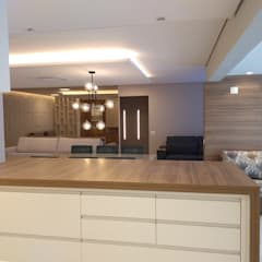 Apartamento residencial 157m2 Salas de estar escandinavas por studiofa design Escandinavo