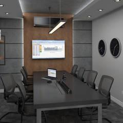 Projeto Escritório de Advocacia e Contabilidade: Espaços comerciais  por Arquorum Arquitetura
