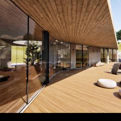 فيلا تنفيذ Traço M - Arquitectura