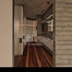 """Casa """"HCS"""": Casas de banho  por Traço M - Arquitectura"""