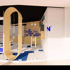 """Loja de Informática """"N'Soluções"""": Lojas e espaços comerciais  por Traço M - Arquitectura,"""