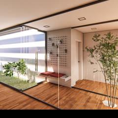 """Casa """"AP"""" Jardins de Inverno modernos por Traço M - Arquitectura Moderno"""