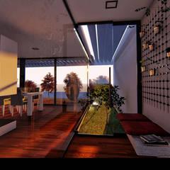"""Casa """"AP"""": Jardins de Inverno  por Traço M - Arquitectura,Moderno"""