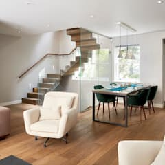 Belgravia Mews House Modern living room by Urbanist Architecture Modern Wood Wood effect