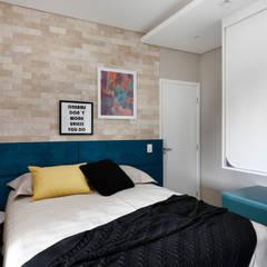Kamar tidur kecil by INSIDE ARQUITETURA E DESIGN