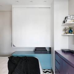 غرف نوم صغيرة تنفيذ INSIDE ARQUITETURA E DESIGN
