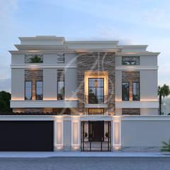 Modern Classic House Design:  Villas by Comelite Architecture, Structure and Interior Design , Modern