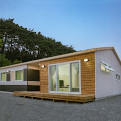 공간제작소 20py 형 대 목조주택: 공간제작소(주)의  목조 주택