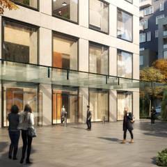 : Espaces commerciaux de style  par Elyse Design