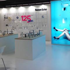 Exhibition centres by BARASONA Diseño y Comunicacion,