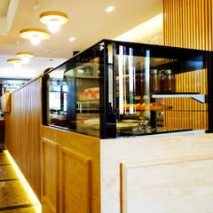 Remodelação Balcão Restaurante Espaços de restauração rústicos por BL'ART - Be creative Rústico