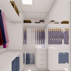Dressing room by Fark Arquitetura e Design