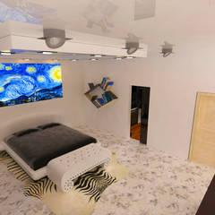 Small bedroom by Royal Interior México, Modern