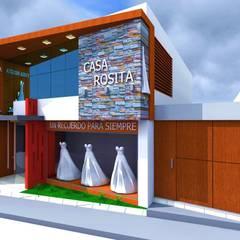 مراكز تسوق/ مولات تنفيذ Crearq-Arquitecto C.ROSAS,
