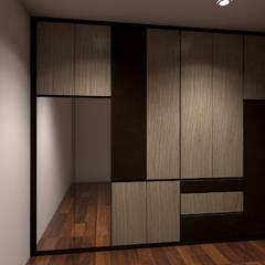 Wardrobe :  Dressing room by Grandlim interior design & renovation