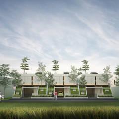 wakowako residence: Rumah oleh midun and partners architect,
