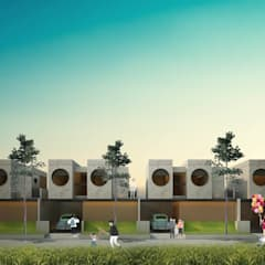 transform from trasnsport Rumah Modern Oleh midun and partners architect Modern