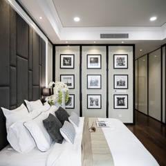 Captivating Chic:  Bedroom by Double Art Design Studio