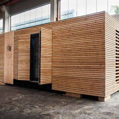 Small houses by WoodCube GmbH, Modern Wood Wood effect