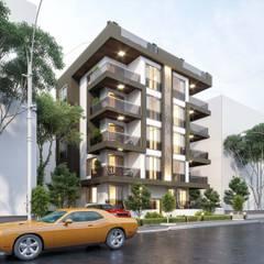 ANTE MİMARLIK  – Key Yapı:  tarz Apartman