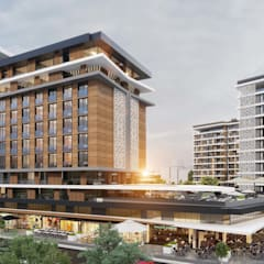 ANTE MİMARLIK  – Akköse İnşaat Konut ve Ticaret Merkezi:  tarz Apartman