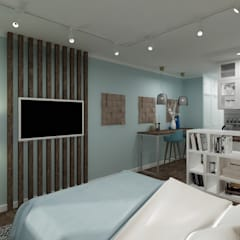 غرف نوم صغيرة تنفيذ Ideal Space