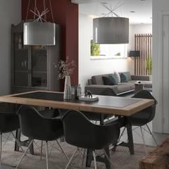 Comedores de estilo  por Santoro Design Render