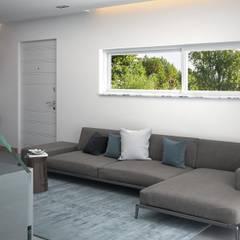 Livings de estilo  por Santoro Design Render