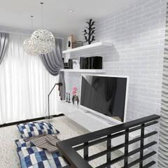 Home Living: Ruang Keluarga oleh SARAÈ Interior Design,