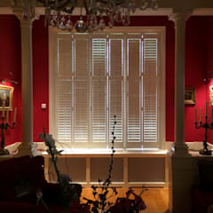 Shutters by Livingshutters, Colonial Wood Wood effect