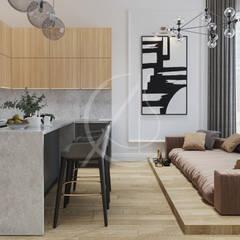 Modern Classic House Interior Design:  Kitchen by Comelite Architecture, Structure and Interior Design ,