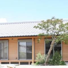 Деревянные дома в . Автор – 永井政光建築設計事務所