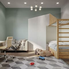 Teen bedroom by WRIGHT FORM