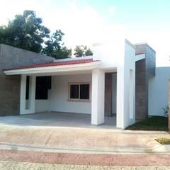 Residencia Lagos del Sol: Casas unifamiliares de estilo  por DCA Arquitectura y Construccion